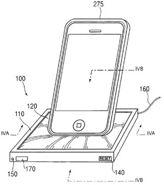 Apple Patent Shows Dock Made From 'Elastic Sponge-Like