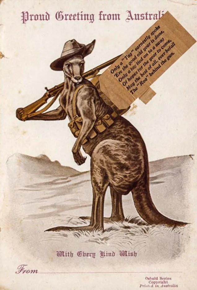 Australia Took Kangaroos As Mascots To World War I
