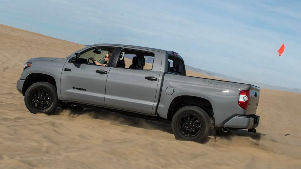 medium resolution of the 2017 toyota tundra trd pro is the best version of an honest old truck