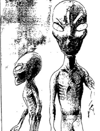 The best of New Zealand's UFO files: Alien writing, masks