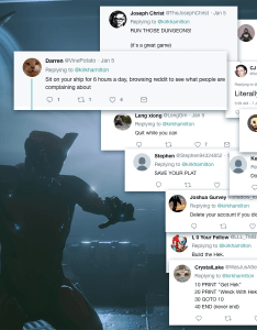 Last week  began playing warframe  video game about robot gymnasts who spend all their money on clothes blew up few bad guys then took one look at also things twitter taught me rh kotaku