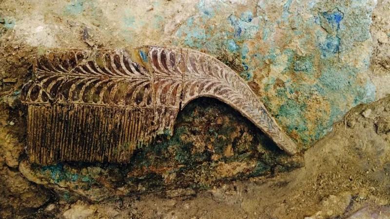 Ancient Greek Warrior's Tomb Yields Eye-Popping Treasures