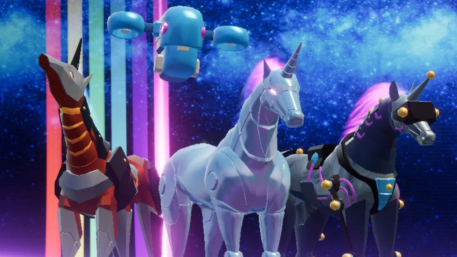 Free Animated Fall Wallpaper Robot Unicorn Attack Isn T Screwing Around This Time