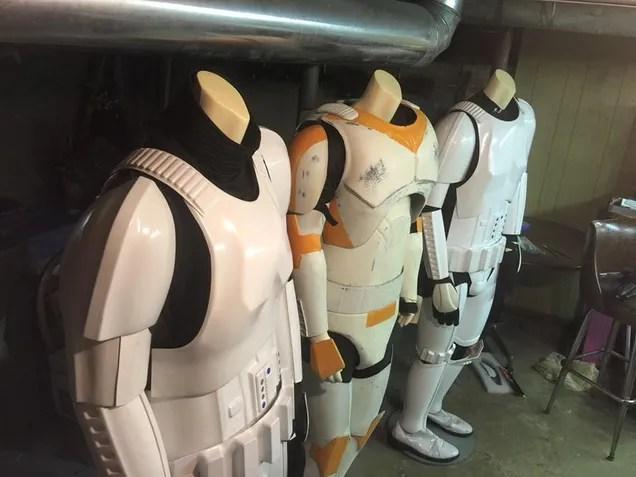 Così volete unire limpero: Stoccaggio e cura dellarmatura dello Stormtrooper