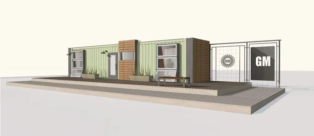 General Motors Will Build You A Tidy, Little Shipping-Container House