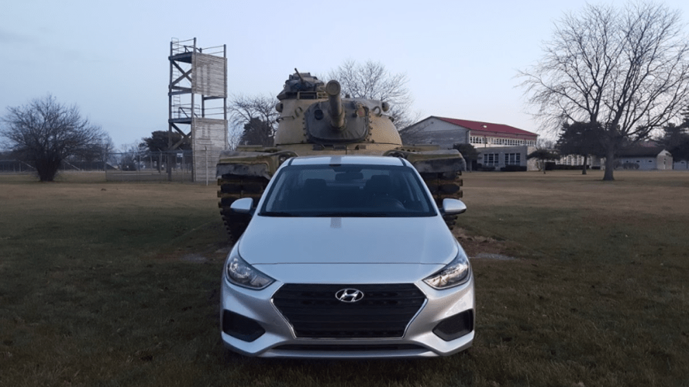 medium resolution of a manual transmission 2018 hyundai accent is a good amount of fun for only 16 000