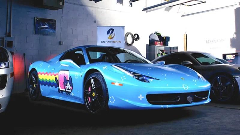 Deadmau5 Car Wallpaper Ferrari Sent Deadmau5 A Cease And Desist About His Purrari