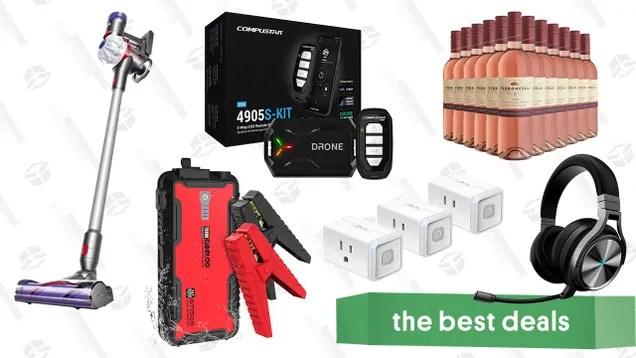 hrkmgko4rtwarjr4nlul Saturday's Best Deals: Compustar 2-Way Remote Start Kit, Dyson V7 Allergy, Gooloo Car Jump Starter, Kasa Smart Plugs, Corsair Virtuoso Headset, and More | Gizmodo