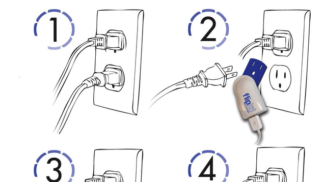 Stop Hogging Power Outlets, Use a Plug-Less USB Charger