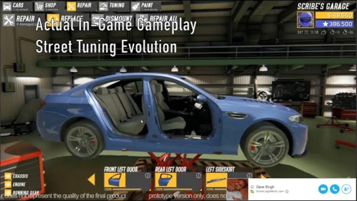 street tuning evolution needs