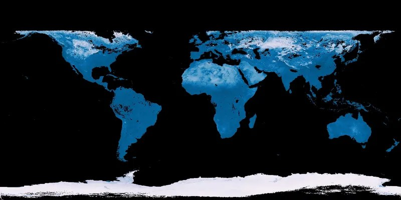 How to Understand These Gorgeous Satellite Data Maps of the Earth