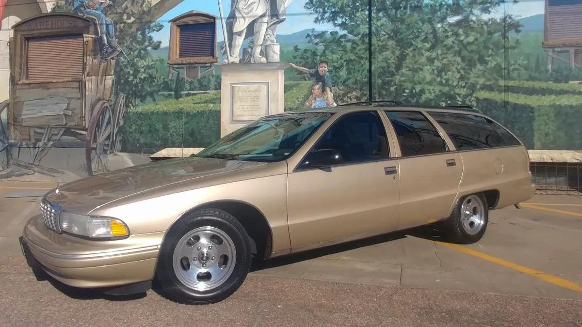 hight resolution of at 7 000 could this 1995 chevy caprice wagon mean your ship has come in