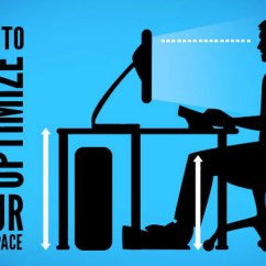 Ergonomic Chair Keyboard Position Rocking White Wood How To Ergonomically Optimize Your Workspace