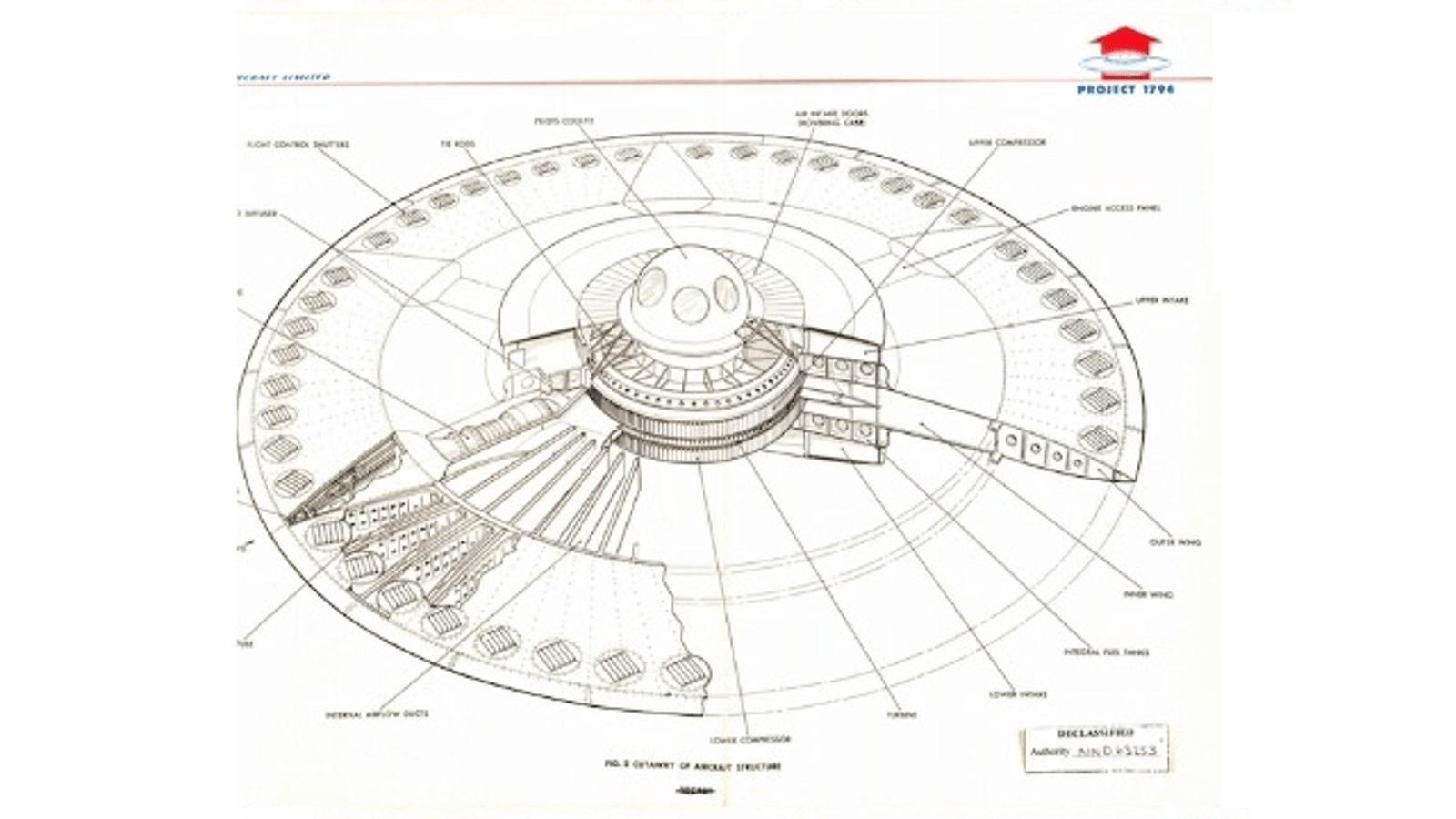 This Is The Supersonic Flying Saucer The Us Air Force