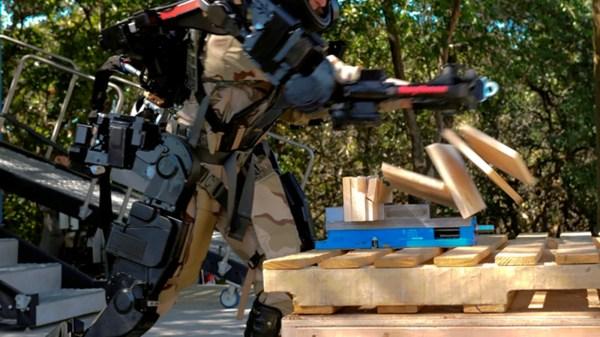 Xos Exoskeleton Mark Ii With Superpowers