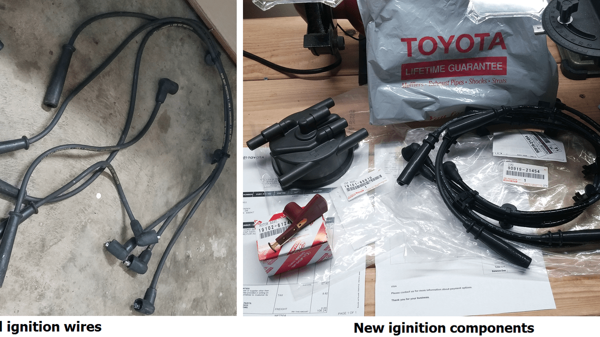 hight resolution of ignition wire harnes for toyotum t100