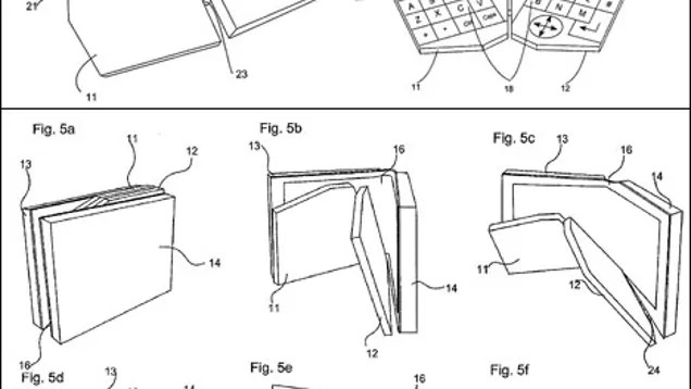 Nokia's Four-Way Folding Communicator Patent is Hinge-Tastic