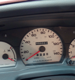 this couple is selling a mint condition 2003 mercury marauder with 62 miles [ 1200 x 675 Pixel ]