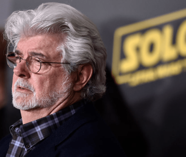 George Lucas At The Premiere Of Solo A Star Wars Story In Los Angeles Photo Frazer Harrison Getty Images