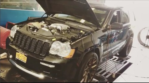 small resolution of someone made their own jeep grand cherokee hellcat and holy crap is it fast