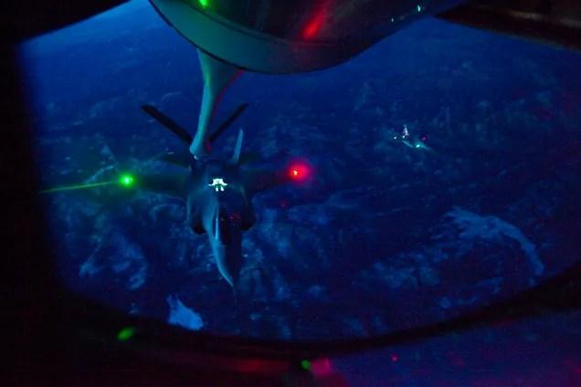 Así funciona el futurista sistema de visión del F-35 en pleno vuelo