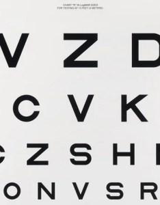 also examining the fascinating typographic history of eye charts rh gizmodo