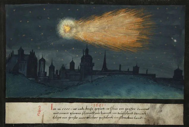 Stunning Depictions of Ancient Comets That Scared the Hell Out of Humans