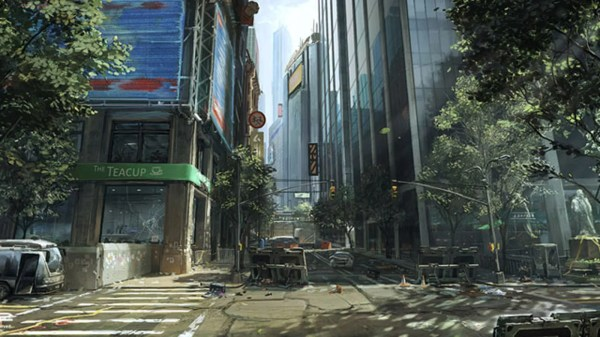 Crysis 2' Concept Art Love Letter York City