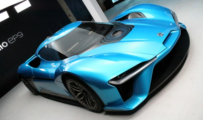 chinese-backed electric car startup nio raises $1 billion