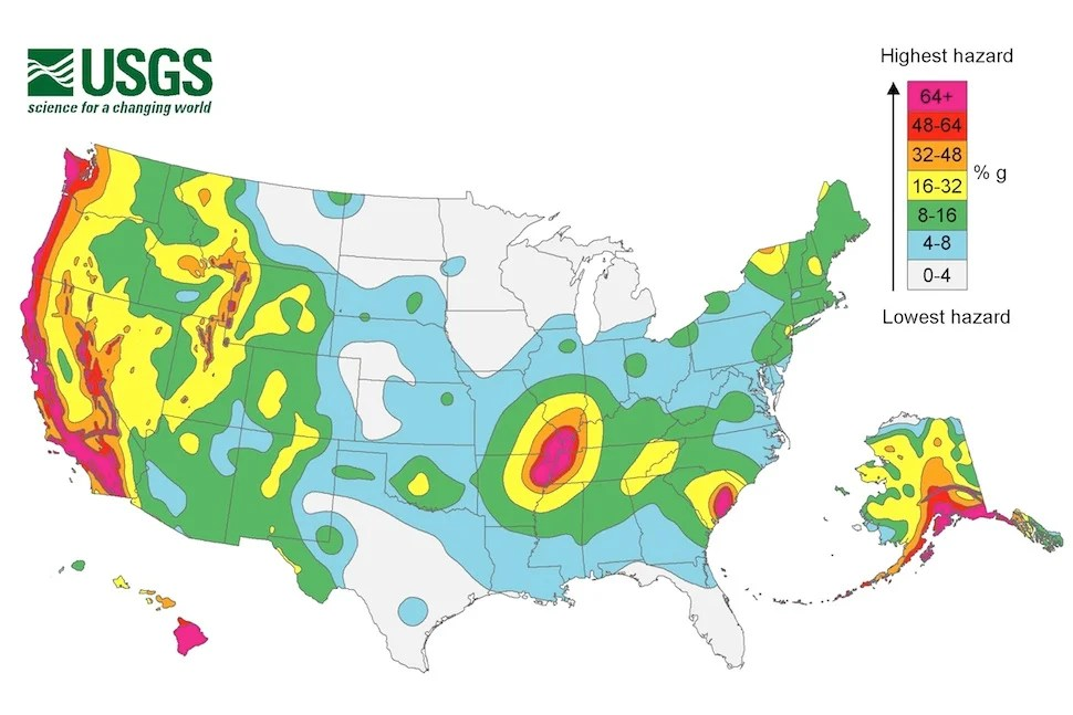 An earthquake threat is building up in the central U.S.