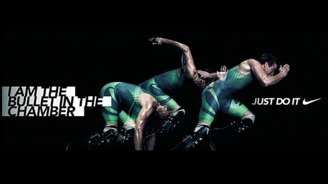 "Nike Oscar Pistorius Ad: ""I Am The Bullet In The Chamber"""