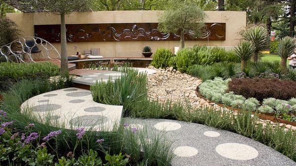 save water in garden