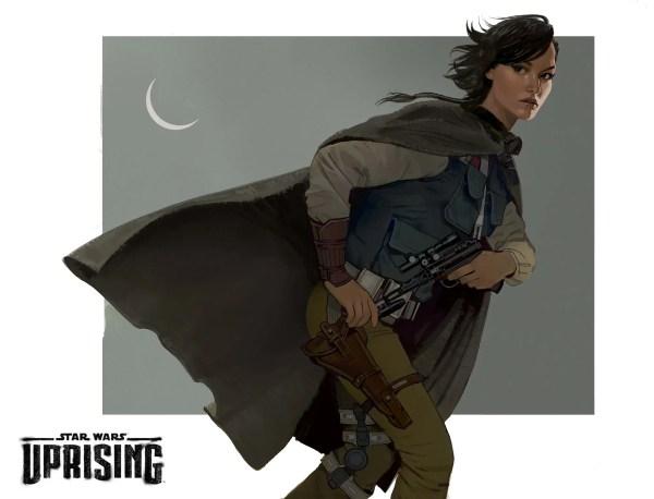 Uprising Star Wars Concept Art
