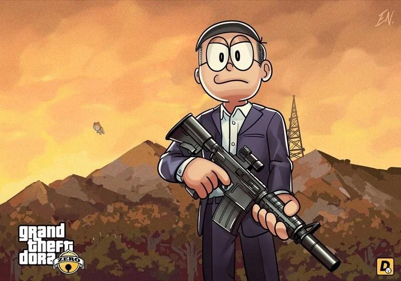 Grand Theft Auto Would Make For A Cute Anime  Kotaku