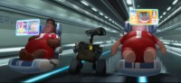Assembly Line Workers Ride Around On Wall-E Style Floating ...
