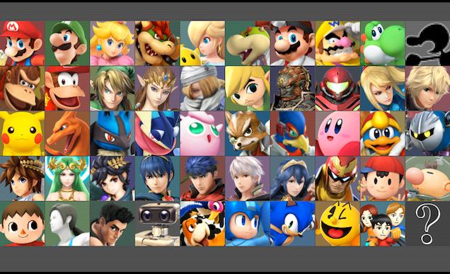 Heres The Full Roster For Super Smash Bros Kotaku