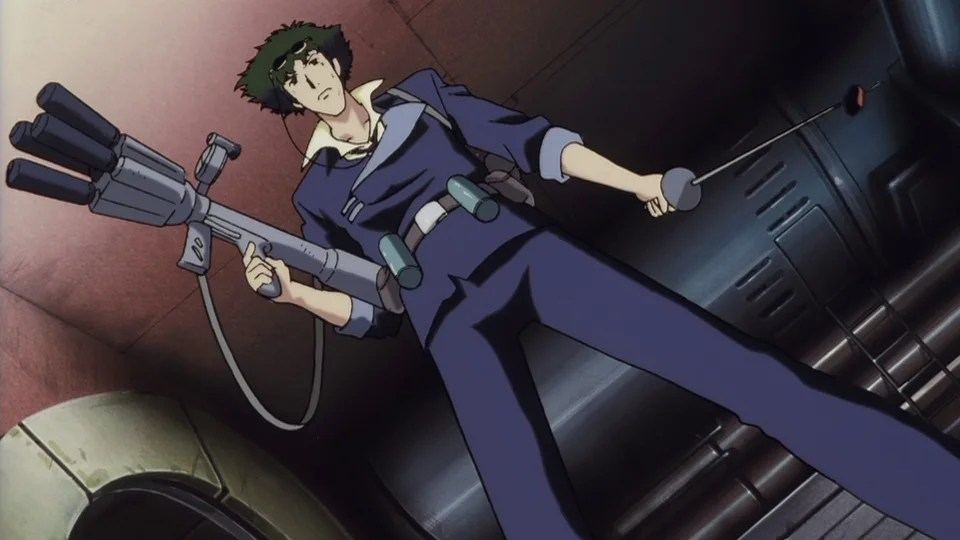 Image result for cowboy bebop toys in the attic