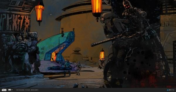 ILM Star Wars Art Department Challenge