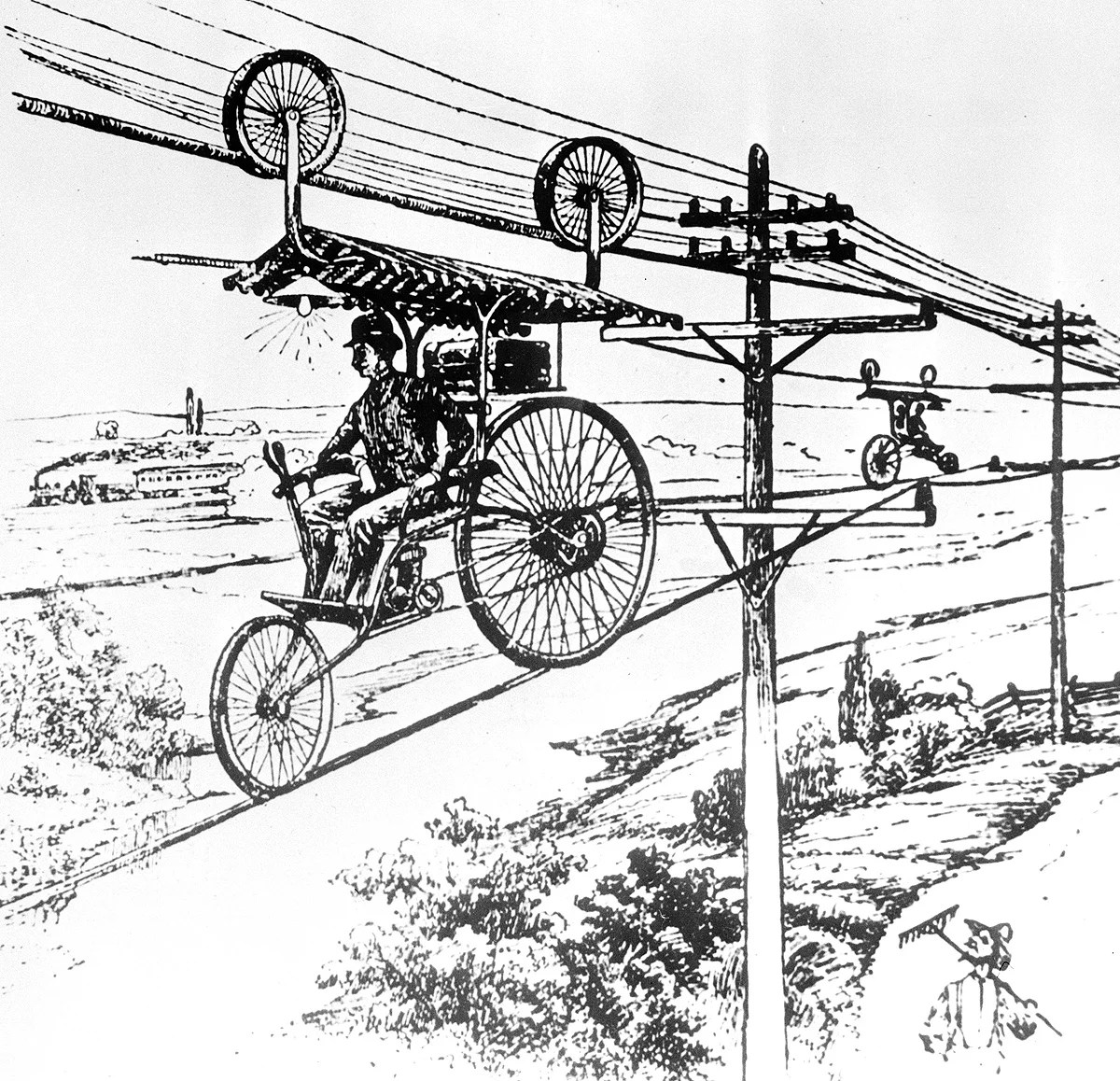 Crazy Rides From The Dawn Of The Bicycle ~ LIFE-STYLE