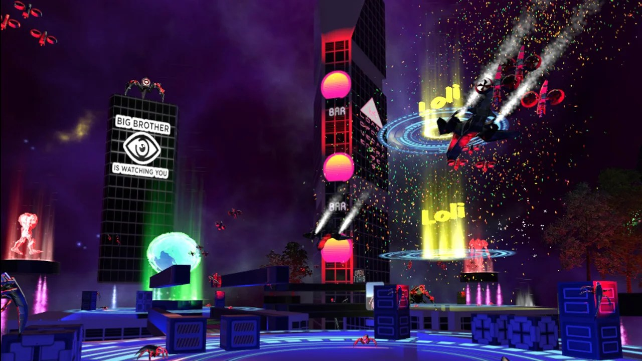 Dream About Wallpaper Falling Off Vrchat Is Not The Cyberpunk Future We Dreamed Of Kotaku