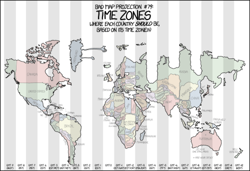 small resolution of distorted map shows each country forced into its time zone