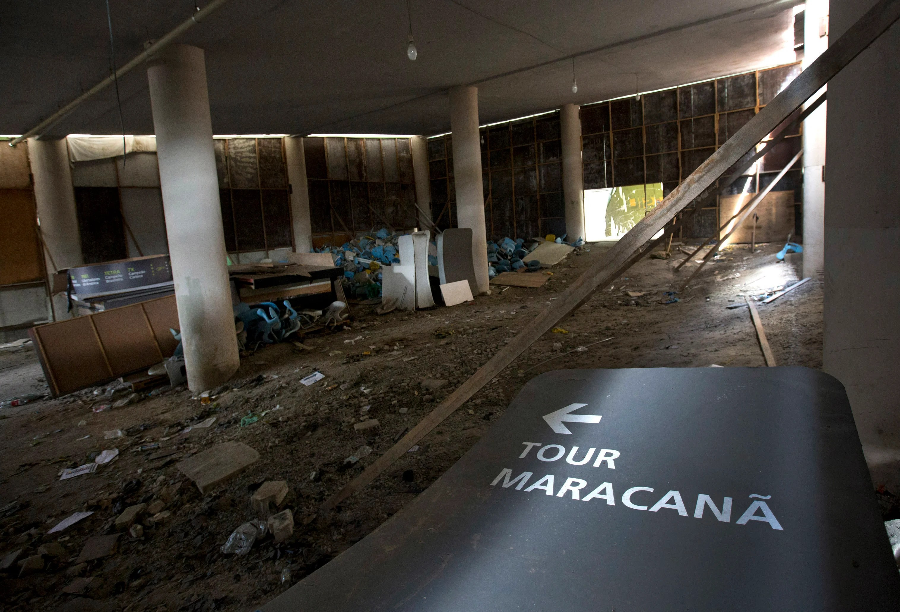 Rios Olympic Venues Look Like Hell Just Six Months After
