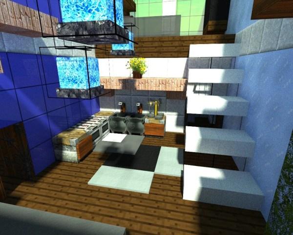 Minecraft Build Inspired Real Hotel Exploring Mars