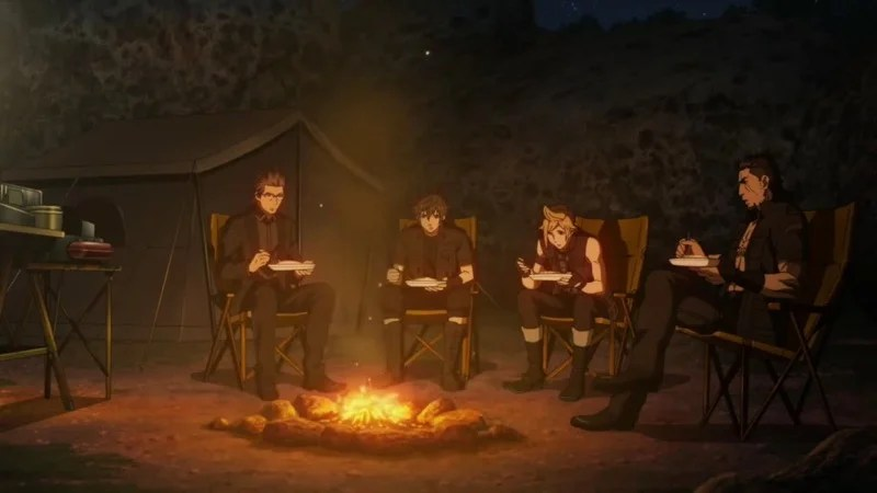 The Final Fantasy XV Anime Compared With The Game Kotaku