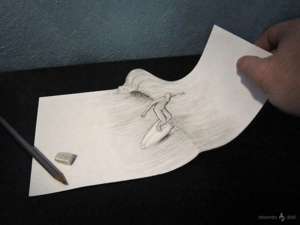 Cool Anamorphic Drawings Play With Brain