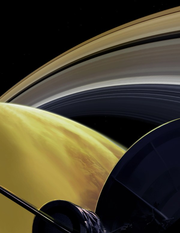 Last Images From Saturn Cassini
