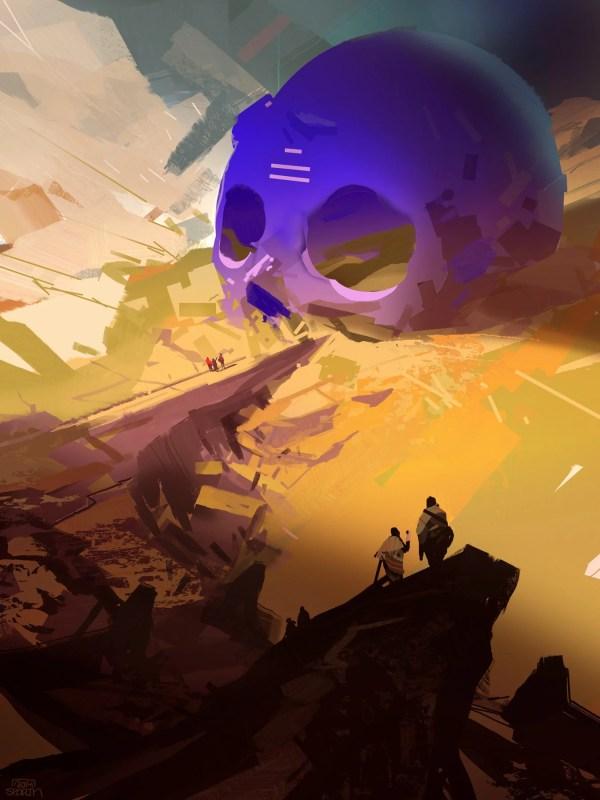 Fine Art Of Sci-fi Planet