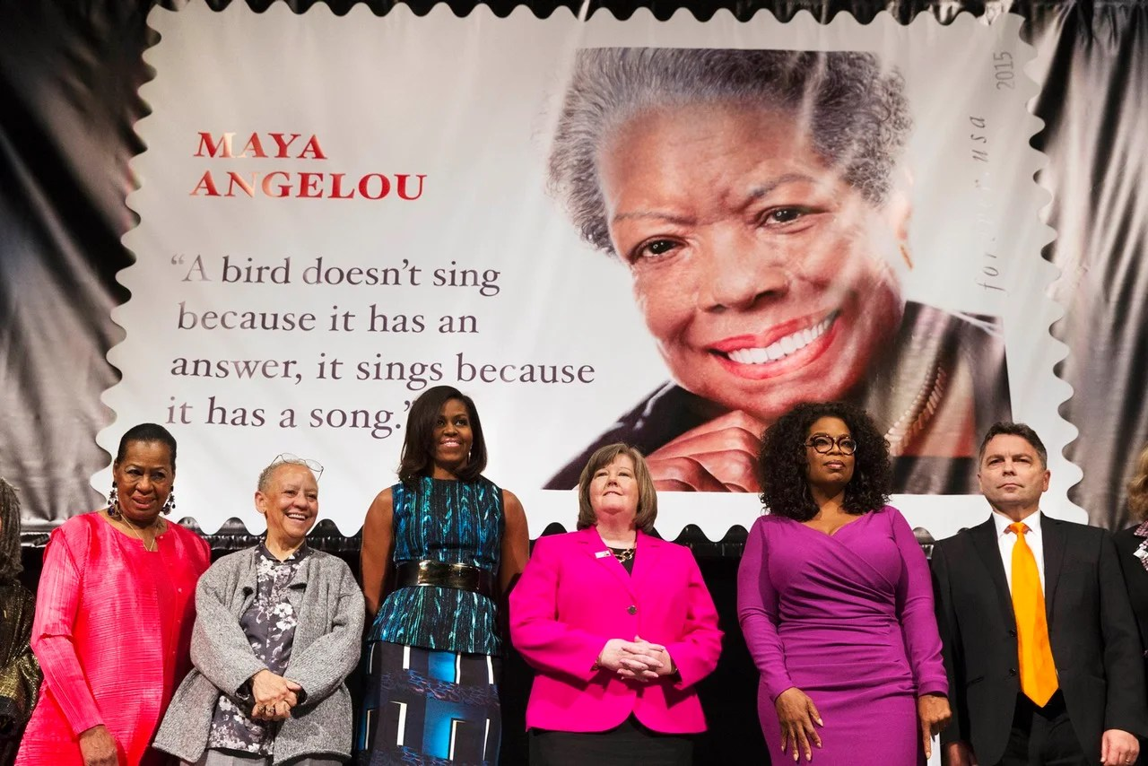 New Stamp Features Fake Maya Angelou Quote