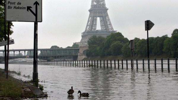 Paris France Flooding News