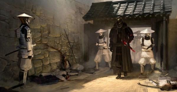 Star Wars Samurai Art